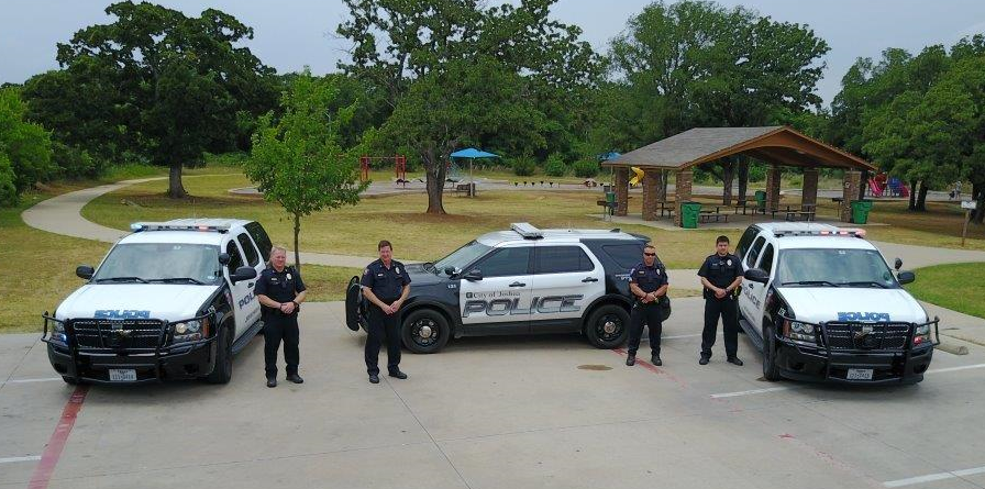 Joshua PD with vehicles