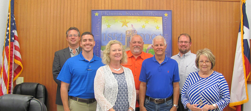 2015 Joshua City Council